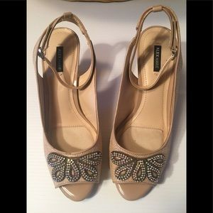 Alex Marie jeweled shoes. Never worn